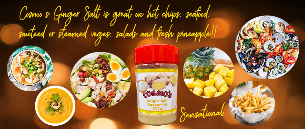 Cosmo's ginger salt